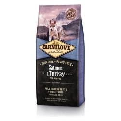 Croquettes CARNILOVE Saumon...
