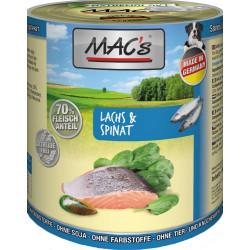 MAC'S Saumon & épinards...