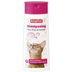 Shampooing extra-doux chats...
