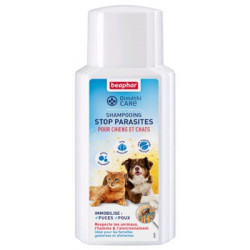 Shampooing stop parasites...