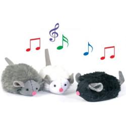 Peluches en forme de souris...