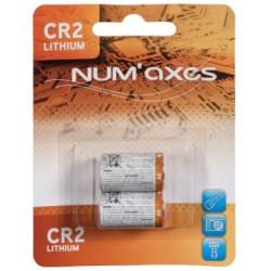 Blister 2 piles lithium CR2...