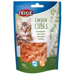 Friandises Cubes au poulet...