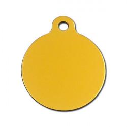 Grand rond doré - 3x4cm