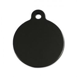 Grand rond noir - 3x4cm
