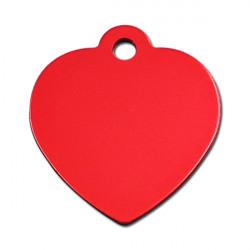 Grand coeur rouge - 3.5x3.5cm