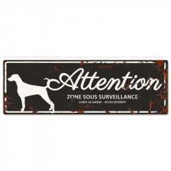 "Plaque ""Attention""..."