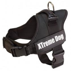 Harnais Xtreme dog Noir -...