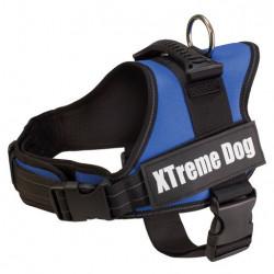 Harnais Xtreme dog Bleu -...