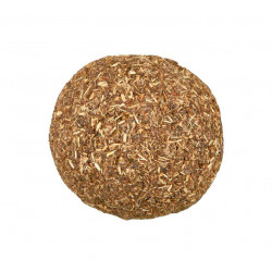 Balle recouverte d'herbe à...
